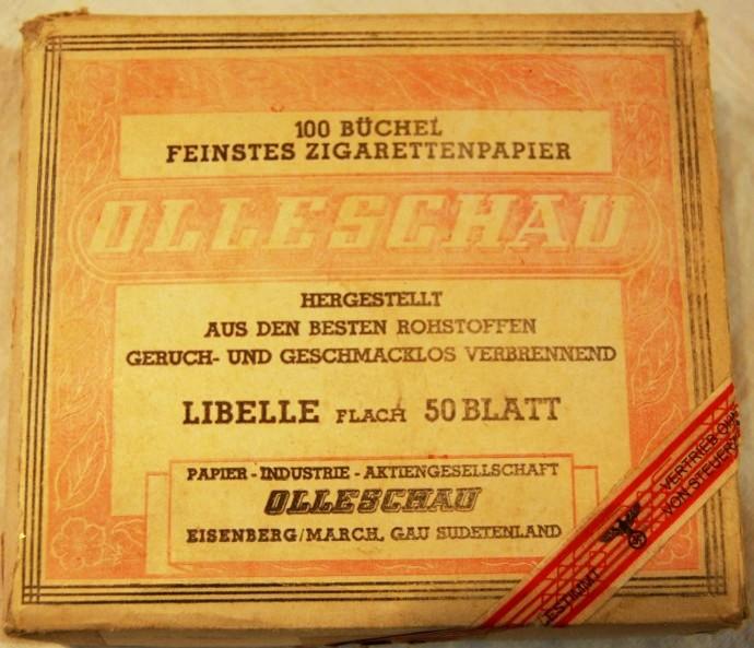 "Librillos de Liar Pitillos ""Olleschau"""